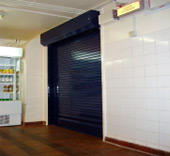 Fire Rated Steel Roller Shutter Doors Supplied And