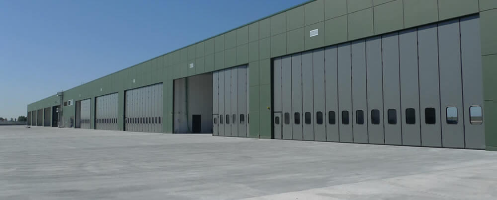 Sliding And Bi Folding Doors For Industrial Use From Enerco