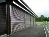 Delta Roll 1000 Electrically Operated Roller Shutter